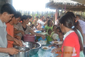 1. KIBLAWAN - MANOBO TRIBE FEEDING (2)